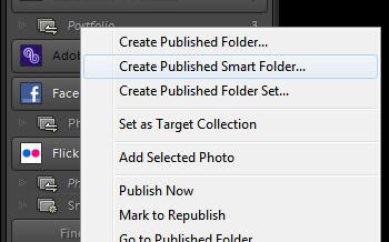 Lightroom Smart Folders