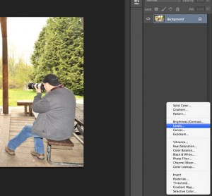 Adjustment Layer in Photoshop