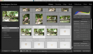Auto Synch in Lightroom