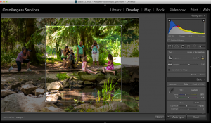 Lightroom Auto synch on and new adjustments