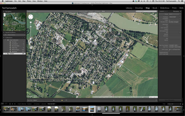 Lightroom Map Module makes Geo-tagging very simple