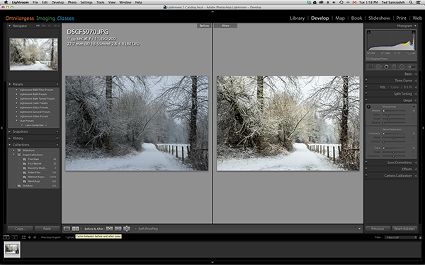Lightroom Local Adjustment tool