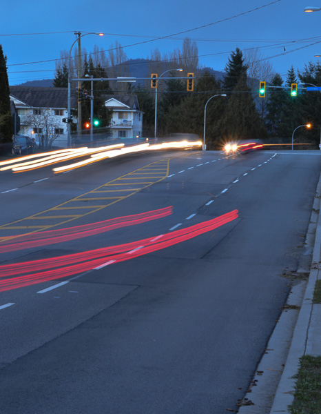Slow shutter speed let you capture different effects