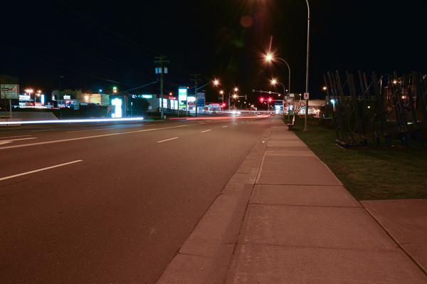 Another sample of street lights at night