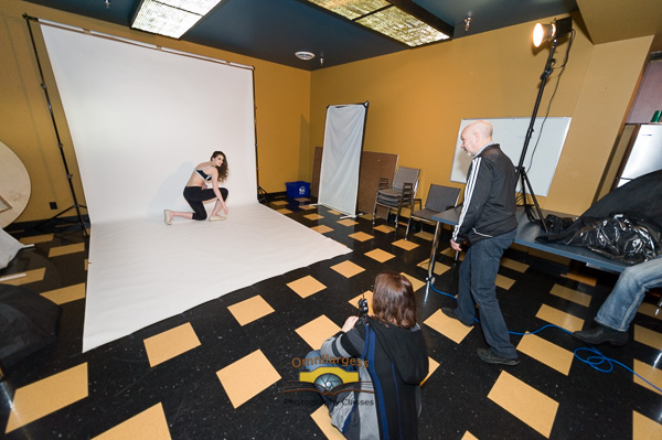 We have a large space for our Model photography workshops