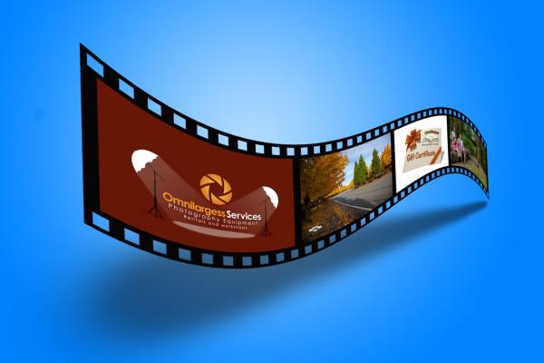 Create a Film Strip in Photoshop