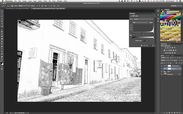 Photoshop Pencil Drawing tip