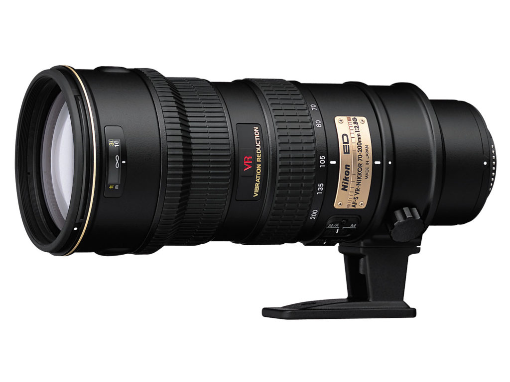 Nikon AFS 70-200 f2.8 VR is $40.00 per day or $160.00 per week!
