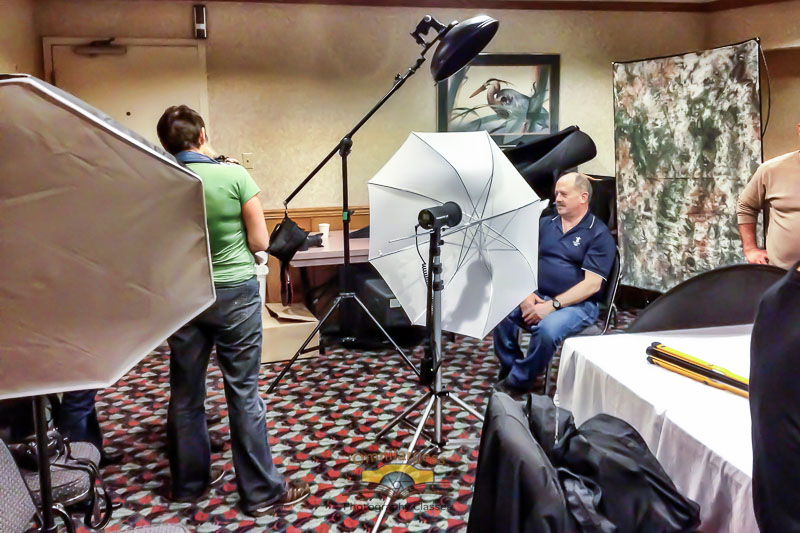 Learn how to set up a studio by using your flash in Flash Photography Workshop