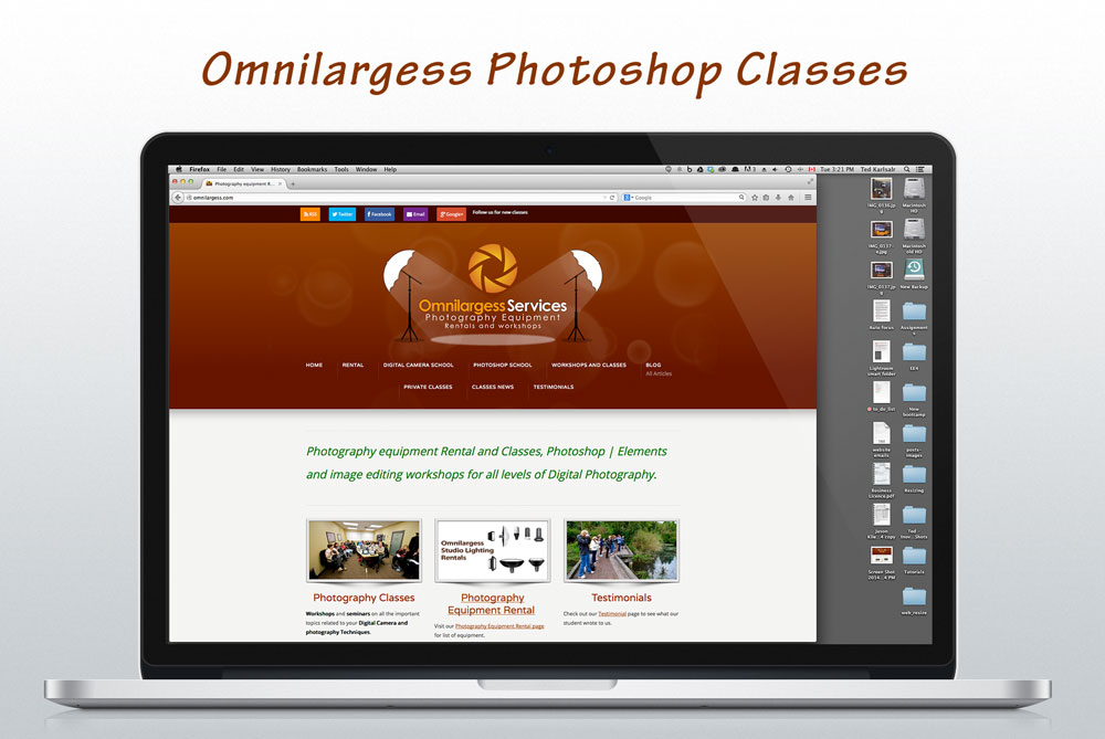 Omnilargess Photography rentals and workshops