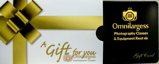 Gift Cards for Photographer