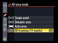 Nikon Continuous Autofocus Modes