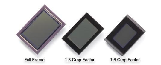 Digital Camera Sensor Size