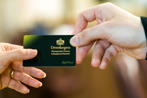 Omnilargess Christmas Gift Cards