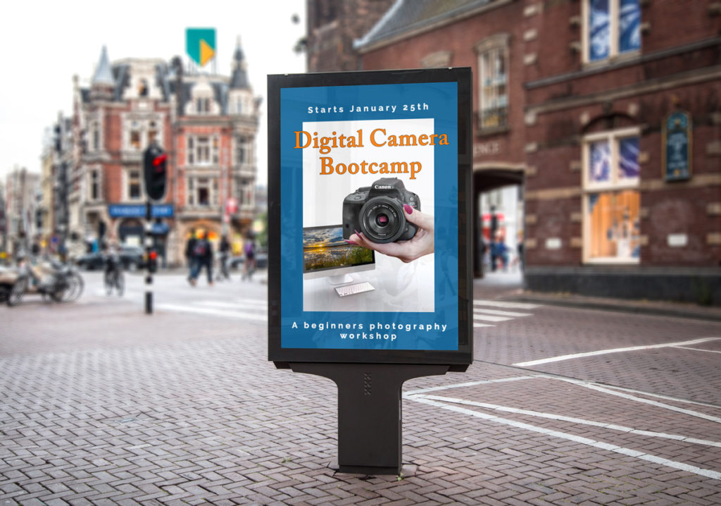 Beginners Digital Camera Bootcamp