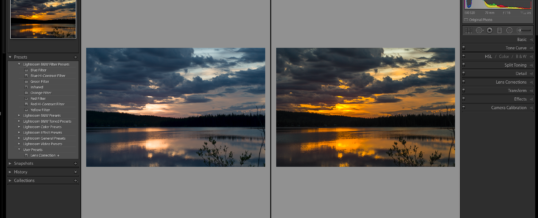 Evening Lightroom Classes