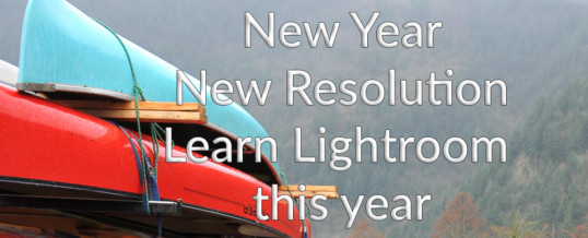 Learn Lightroom this year