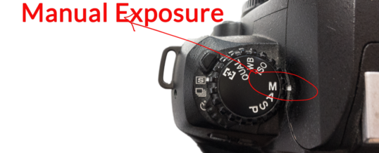 Photography Tip – Manual exposure