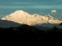 Mt.Baker sillouette