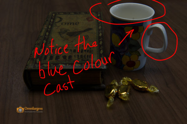 An under exposed or over exposed photo can create unwanted colour cast.