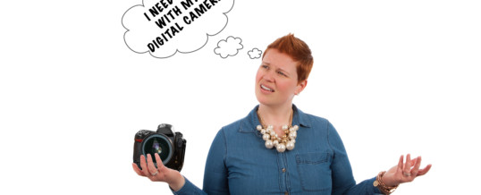 Digital camera frustration