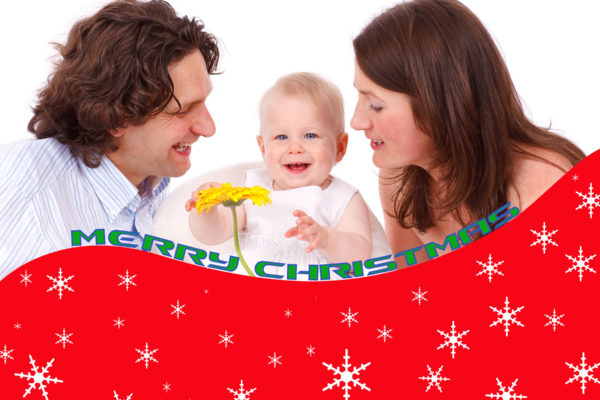 It is very simple designing Christmas cards in Photoshop