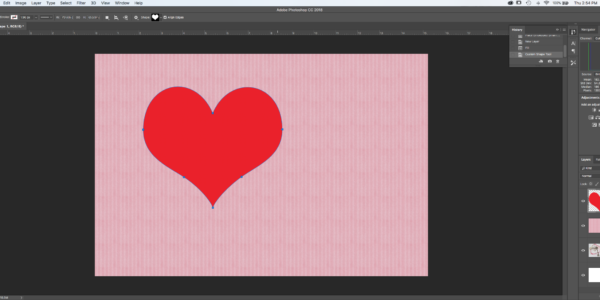 There are so many different Shapes in Photoshop. Scroll down to find the one you like
