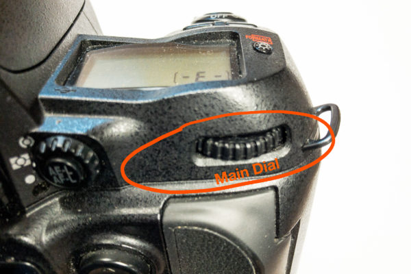 The Main Command Dail Controls aperture in modern cameras
