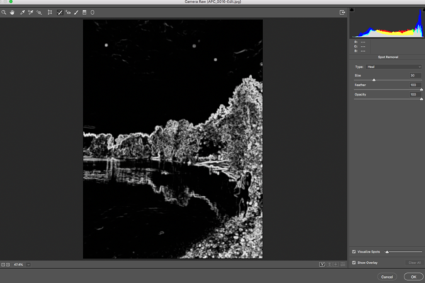 Visualize Dust in Photoshop