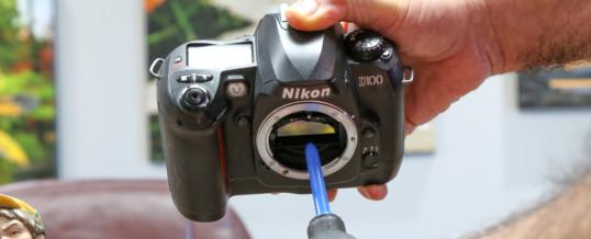 Clean the Camera Sensor