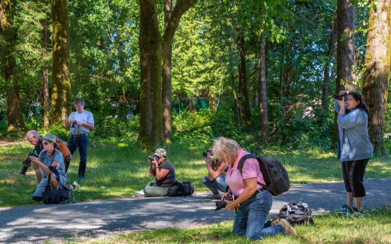 Field Photography Class is all hands on and practical exercises