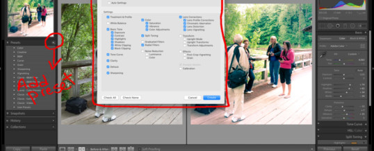 Ted's Editing Tips: Lightroom User Presets
