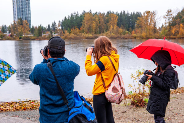 Rain or Shine, we have lots to cover in Photography skills.