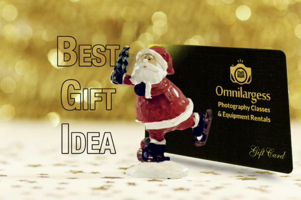 Omnilargess Gift Card is the best Gift Idea for Shutterbugs!