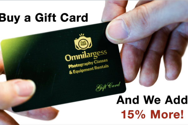 Celebrate Mother's Day by offering her an Omnilargess Gift Card