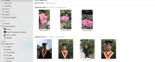 Sorting Digital Photos