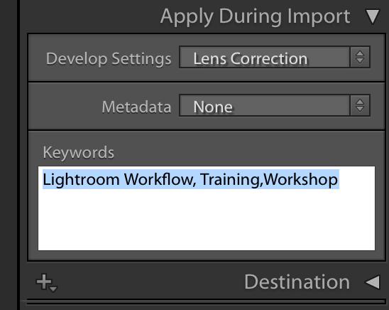 Effective Lightroom Workflow