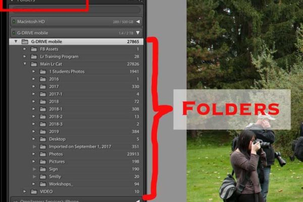 Lightroom Default Folders