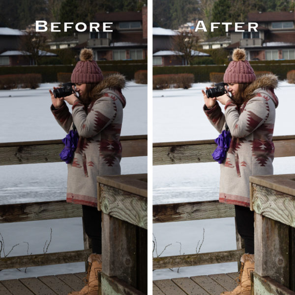 Brightening pictures in Photoshop