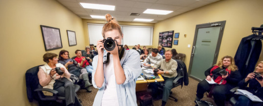 Beginner's Photography Class: Shooting With Confidence