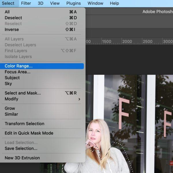 Photoshop Colour Change